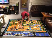 Tapis carte Super Mario